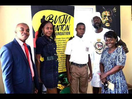Buju Banton Provides Scholarship To His Alma Mater - Named In Honour Of His Mother