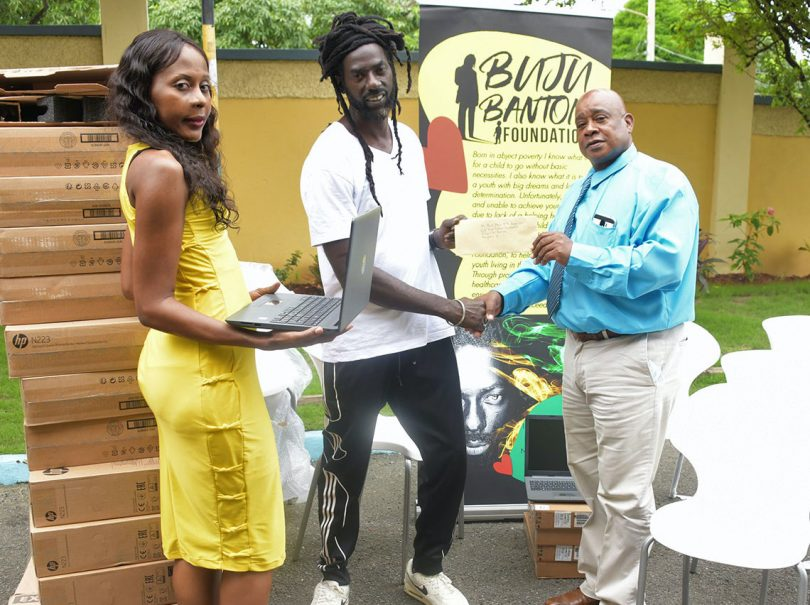 Buju Banton and Kanye West Partner to Donate Laptops to Kids In Jamaica
